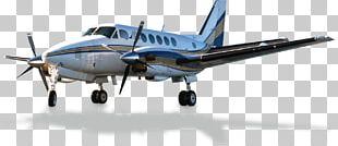 Airplane Beechcraft King Air Aircraft Air Transportation Airline PNG