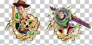 KINGDOM HEARTS Union χ[Cross] Toy Story Land Buzz Lightyear Kingdom Hearts χ Sheriff Woody PNG
