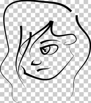 Women Drawing Line Art PNG