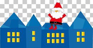 Santa Claus Christmas Card White Christmas Rudolph PNG