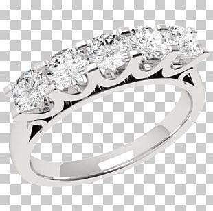 Diamond Brilliant Engagement Ring Jewellery PNG