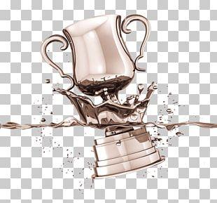 Poster Mockup Trophy PNG