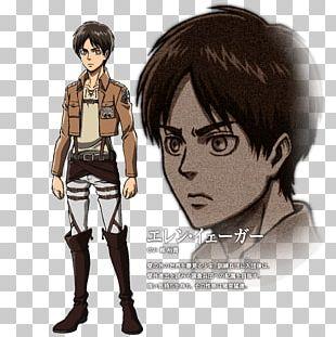 Eren Yeager Mikasa Ackerman Attack On Titan Armin Arlert Jean Kirschtein PNG