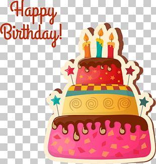 Birthday Cake Cupcake Wedding Cake Icing Chocolate Cake PNG
