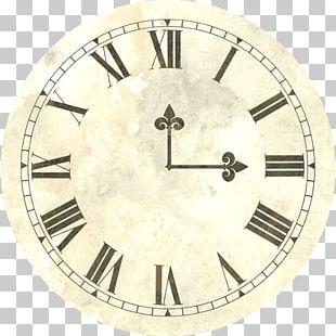 Clock Face Digital Clock Roman Numerals PNG