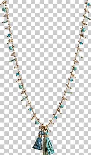 Earring Necklace Turquoise Jewellery Gold PNG