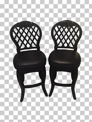 Chair Bar Stool Armrest Wood PNG
