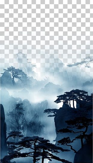 China Nature Chinese Painting PNG