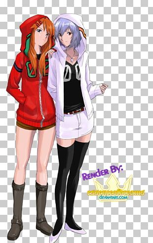 Rei Ayanami Asuka Langley Soryu Shinji Ikari Anime Evangelion PNG