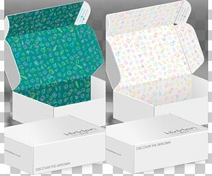 Subscription Box Paper Packaging And Labeling PNG