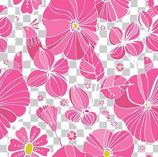 Floral Design Pink Flower PNG