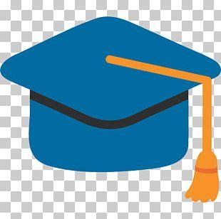 Emoji Graduation Ceremony Square Academic Cap Android PNG