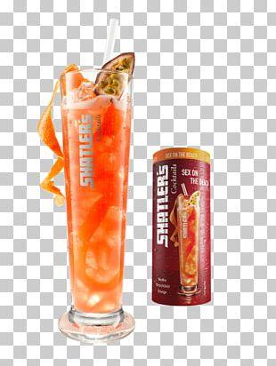 Orange Drink Sex On The Beach Cocktail Piña Colada Vodka PNG