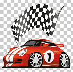 Racing Video Game Cars 2 PNG