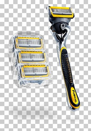 Razor Gillette Mach3 Shaving Blade PNG