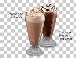 Chocolate Ice Cream Frappé Coffee Milkshake Cappuccino Caffè Mocha PNG