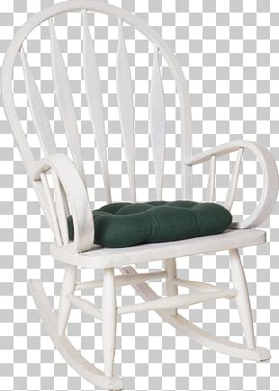 Rocking Chairs Cushion Wing Chair Furniture PNG