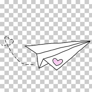 Airplane We Heart It Paper PNG