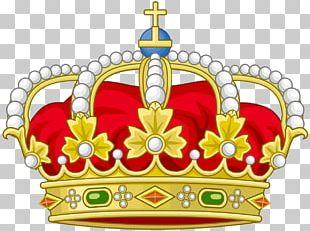 Spain Spanish Royal Crown Coroa Real Heraldry PNG