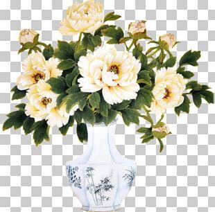 Flower Bouquet Vase PNG