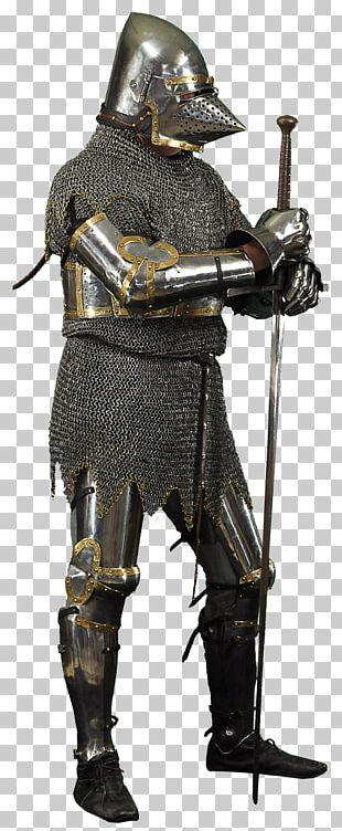 Middle Ages Knight Components Of Medieval Armour PNG