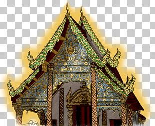 Wat Facade Chinese Architecture Shrine PNG