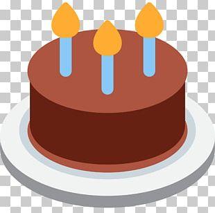Birthday Cake Christmas Cake Chocolate Cake Emoji PNG