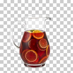 Sangria Punch Carbonated Water Iced Tea PNG