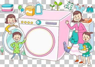 Washing Machine Laundry Clothing PNG