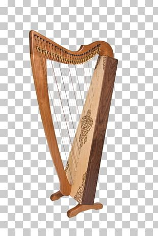 Celtic Harp Konghou Iranian Musical Instruments PNG