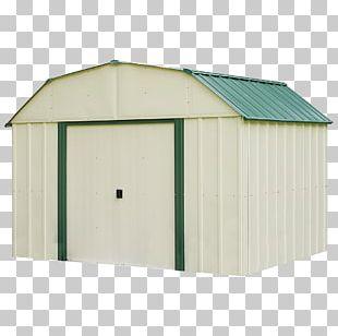 Shed Steel Garage Back Garden Building PNG