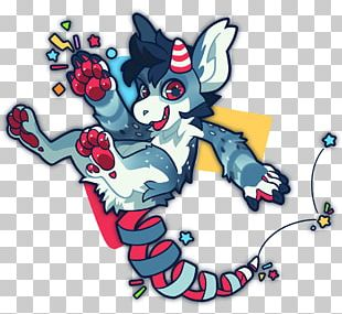 Party Popper Illustration Furry Fandom PNG