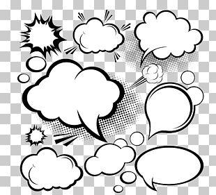 Speech Balloon Cloud Euclidean PNG