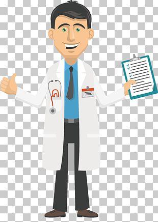 Cartoon Physician PNG