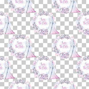 Paper Wedding Invitation Textile Pattern PNG