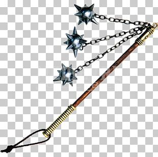 Middle Ages Flail Melee Weapon Mace PNG
