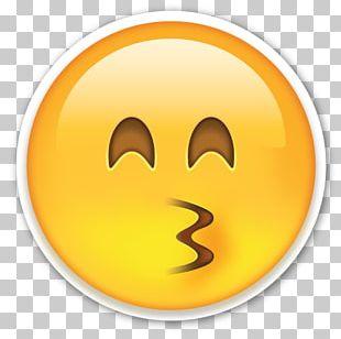 Smiley Emoji Eye Face PNG