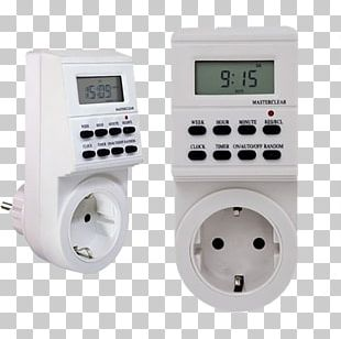 AC Power Plugs And Sockets Timer Digital Data Time Switch PNG