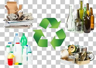 Recycling Rubbish Bins & Waste Paper Baskets Reuse Plastic Bottle PNG