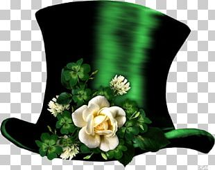 Saint Patrick's Day Shamrock Leprechaun PNG
