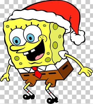 Spongebob Xmas PNG