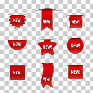 Label Sticker Promotion Illustration PNG