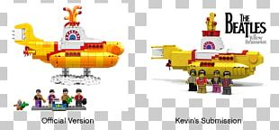 Lego Ideas The Beatles LEGO 21306 Ideas Yellow Submarine PNG