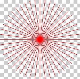 Light Red Symmetry Pattern PNG