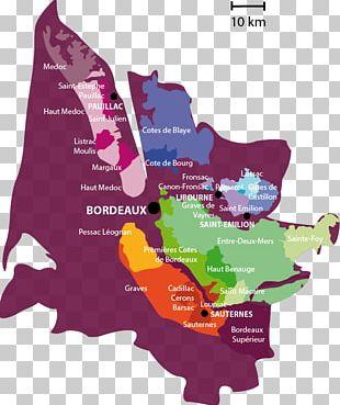 Bordeaux Wine Regional Bordeaux AOCs Route Des Vins PNG