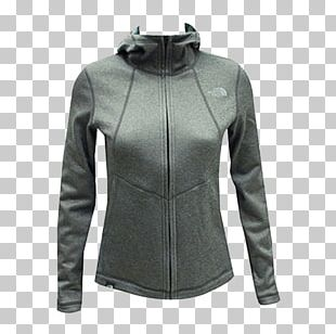 Hoodie Leather Jacket Polar Fleece The North Face Clothing PNG