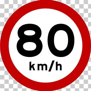 Kilometer Per Hour Road Traffic Sign Speed Limit PNG