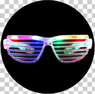 Clothing Sunglasses Glow Stick Party PNG