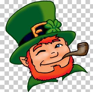 Leprechaun Shamrock Saint Patrick's Day The Real St. Patrick PNG