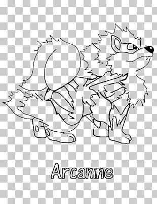 Pokémon X And Y Coloring Book Arcanine Colouring Pages PNG